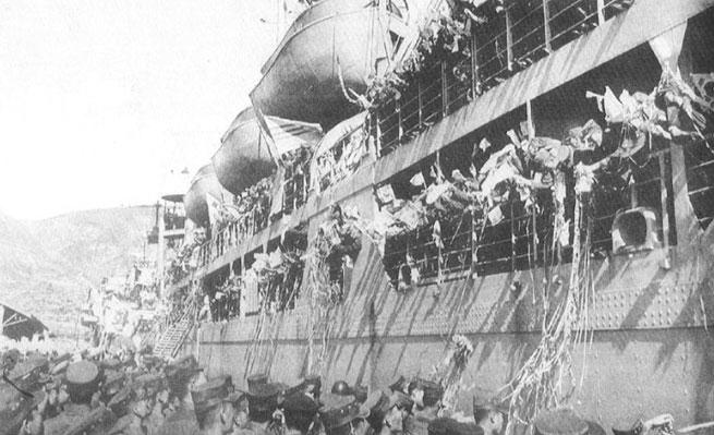 파병장병의 애환이 담긴 부산항 제3부두를 통해 베트남전쟁에 참전하는 장병들