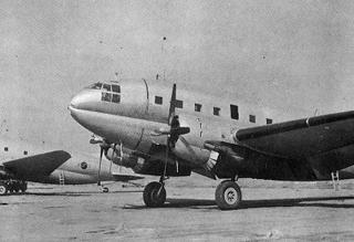 은마 부대의 C-46 D수송기